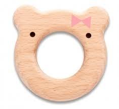 Massaggiagengive in legno orsetto