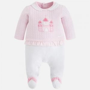 Pagliaccetto neonata con maglioncino pullover invernale collezione 2017/18