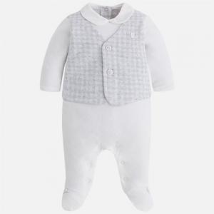 Pagliaccetto con gilet e pantalone per bambino invernale collezione2017/18