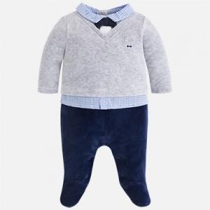 Pagliaccetto neonato elegante invernale collezione 2017/18