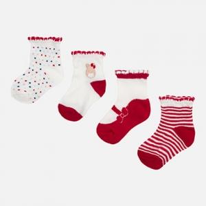 Set di 4 paia di calze