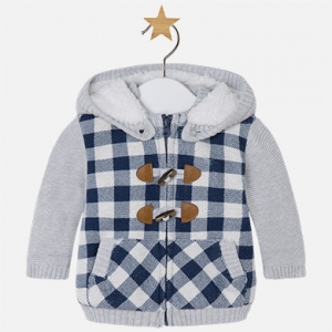 Giacca felpa con pelliccia invernale collezione 2017/18
