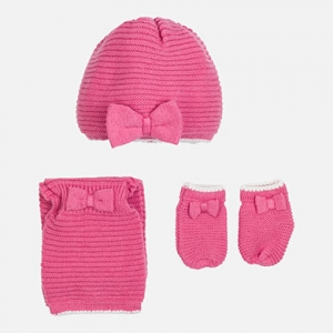 Completo cappello, manopole e sciarpa invernale collezione 2017/18