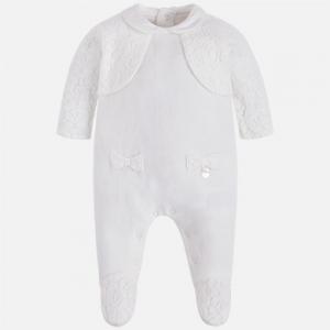Pagliaccetto neonata con cardigan invernale collezione 2017/18