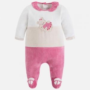 Pigiama neonata in ciniglia invernale collezione 2017/18