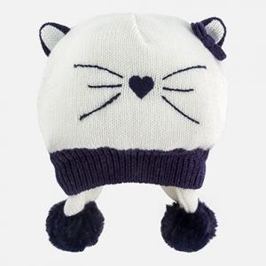 Cappello in tricot con pompon invernale collezione 2017/18