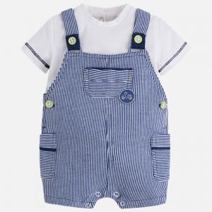 Completo bambino salopette e maglietta