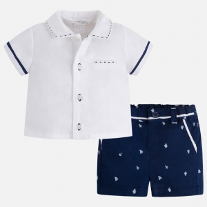 Completo bambino camicia e pantaloncino