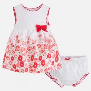 Vestito bambina stampato due pezzi
