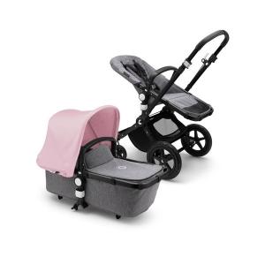 Passeggino duo Cameleon 3 Plus base nero/grigio melange-soft pink