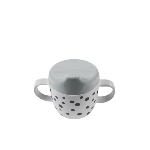 Tazza two handle spout cup Happy dots Done by Deer