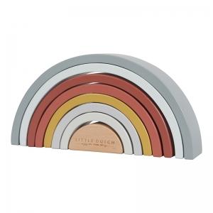 Rainbow stacker arcobaleno in legno Little Dutch