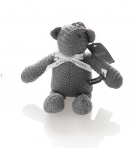 Mini carillon orso lavorato a maglia Bamboom