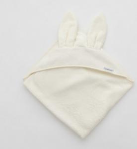 Asciugamano neonato Xl con orecchie Bamboom